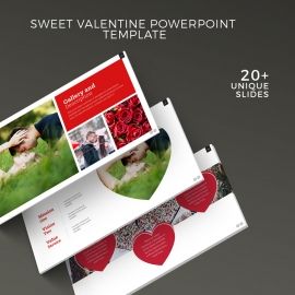 Sweet Valentine Powerpoint Template