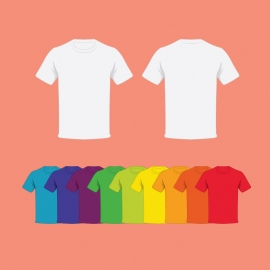 T-shirt In Different Colors