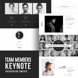 Team Members Keynote Template