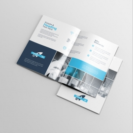 Technology BiFold Brochure With Boxs