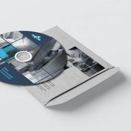 Technology CD Pack With Black Accent Boxs