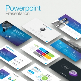 Technology Clean Powerpoint Presentation