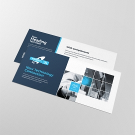 Technology Compliment Card With Black Boxs