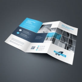Technology TriFold Brochure With Boxs