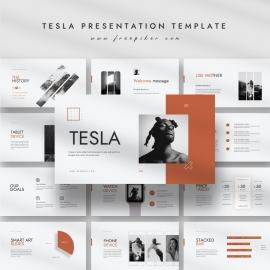 Tesla Presentation Templates