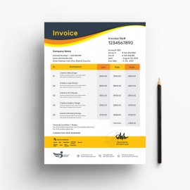 The Clean Business Invoice