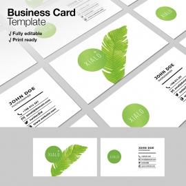 Creative Clean Business Card