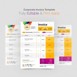 Corporate Invoice