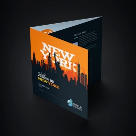 New York Travel Trifold Brochure