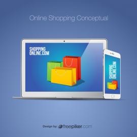 Online Shopping Conceptual