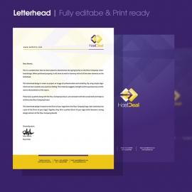 Hosting Server Studio Corporate Letterhead