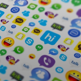 Messenger & Chatting Apps Vector Icons Collection