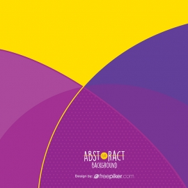 Abstract Vector Purple Background