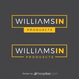 Minimal Typographic Generic Logo