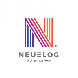 Neue New N Letter Logo