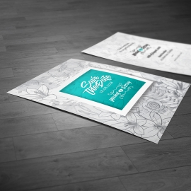 Modern & Creative Save the Date Invitation Postcard