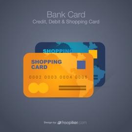 Bank Card | Credit Debit & Shopping Card Icon