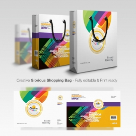 Creative & Glorious Colorful Shopping Bag
