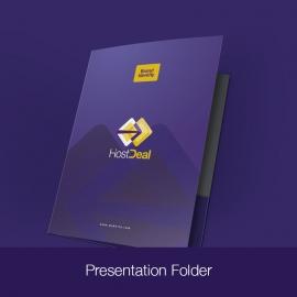 Hosting Server Studio Corporate Presentation Folder