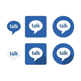Google Talk Gtalk Vector Icons Vector Icons