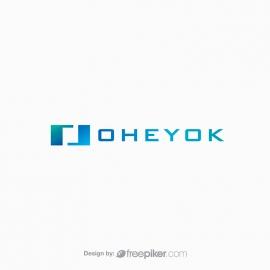 O Letter Minimal Technology Logo