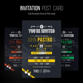 Invitation Post Card