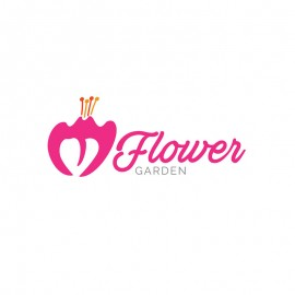 Flower Garden Symbol Logo