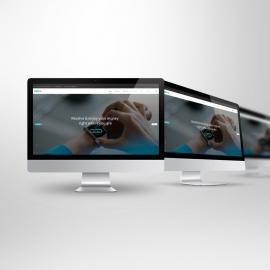 Desktop Computer iMac Screen Mockup