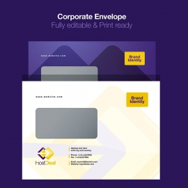 Hosting Server Studio Corporate Envelope