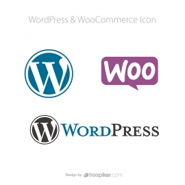 WordPress & WooCommerce Vector Icons