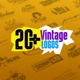 Retro Minimal Logo Design Collection