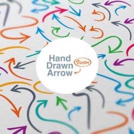 Hand Drwan Vector Arrows
