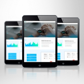 Responsive Screen Tablet Mockup
