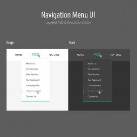 Responsive Navigation Menu UI & UX