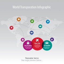 World Transportation Infographic