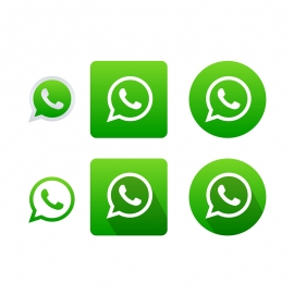 WhatsApp Vector Icons Vector Icons