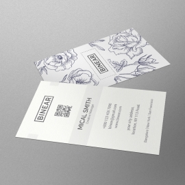 Corporate Floral Business Card