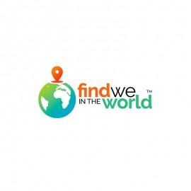Find World Map Tracking & Globe Logo