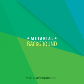 Vector Material Green Background