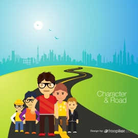 Character & Road People Team
