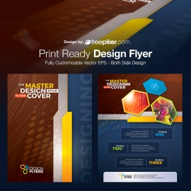 Corporate Design Flyer
