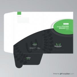 Green Presentation Folder