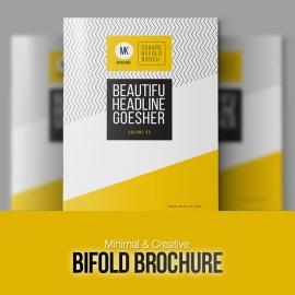 Bifold Minimal Creative Brochure