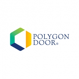 Polygon Door Corporate Clean Logo