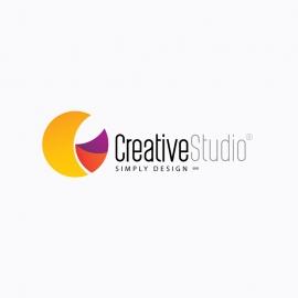 Creative Design Studio C Letter Logo