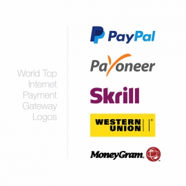 World Top Internet Payment Gateway Logos