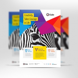 Creative Colorful Flyer