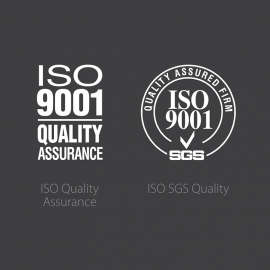 ISO Quality Assurance Symbol Icons