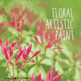 Floral Artistic Paint