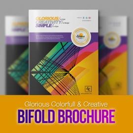 Creative Corporate Bifold Brochure